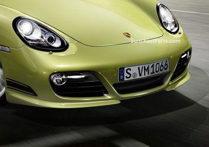 Suncoast Porsche Parts & Accessories Cayman R Front Splitters