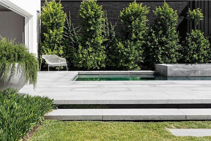 Backyard oasis... Elwood Pool House — DOT + POP