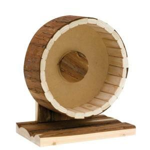 Grande roue bois pour hamster et gerbille - Achat / Vente roue - boule d'exercice Grande roue - Cdiscount