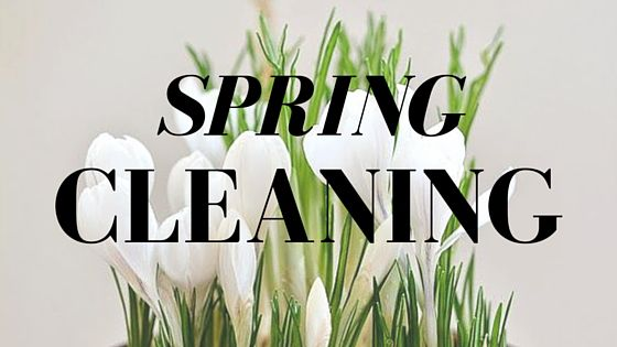 """""""No matter how long the winter, spring is sure to follow"""" - Unknown  Making spring cleaning a little bit easier.  -    Merry-Making the Seasons"""
