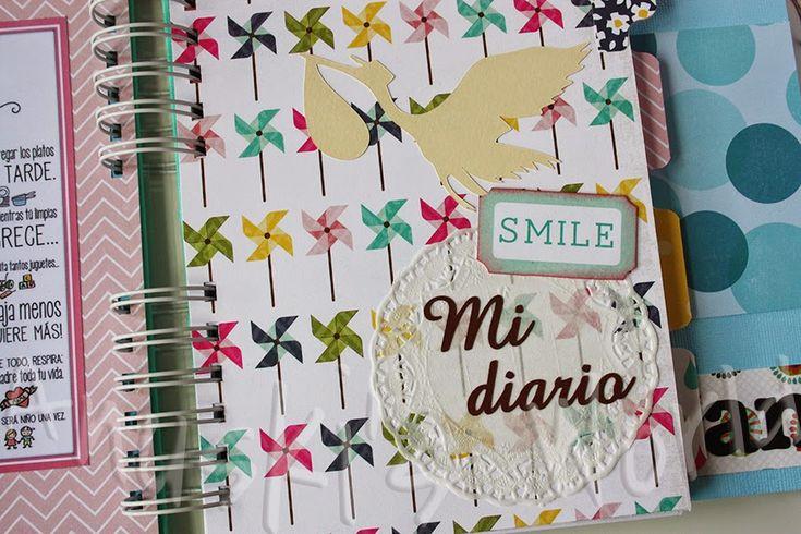Diario de embarazo y álbum de bebé para Miriam y Fran - Anuski´s World