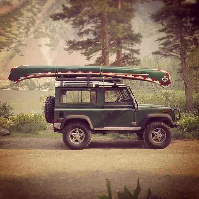 "sanborncanoecompany: ""Two pretty sweet rides! #ScoutForth folks! Photo by @readk """