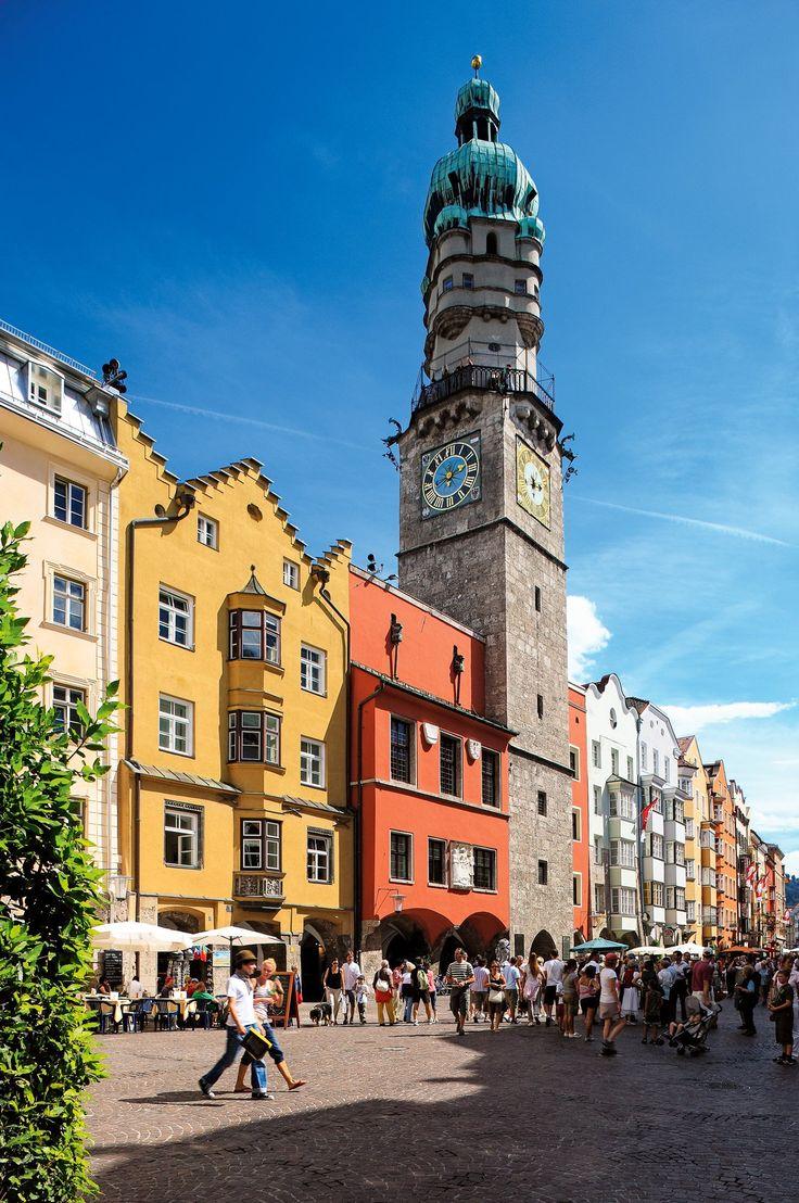 Stadtturm, Innsbruck, Austria Gorgeous city!!! We had a blast here today!!