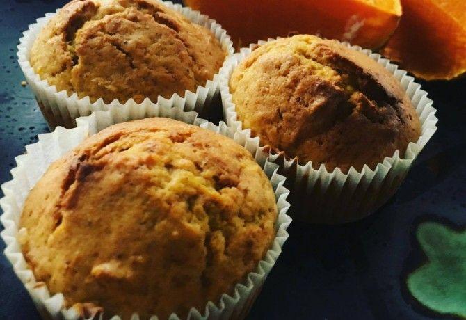 Fahéjas-sütőtökös bögrés muffin