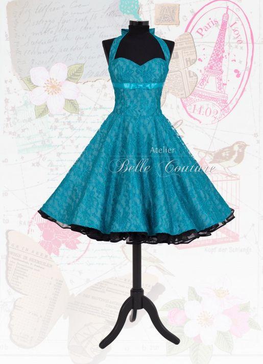 Atelier Belle Couture | Spitzenkleid im Petticoat Stil