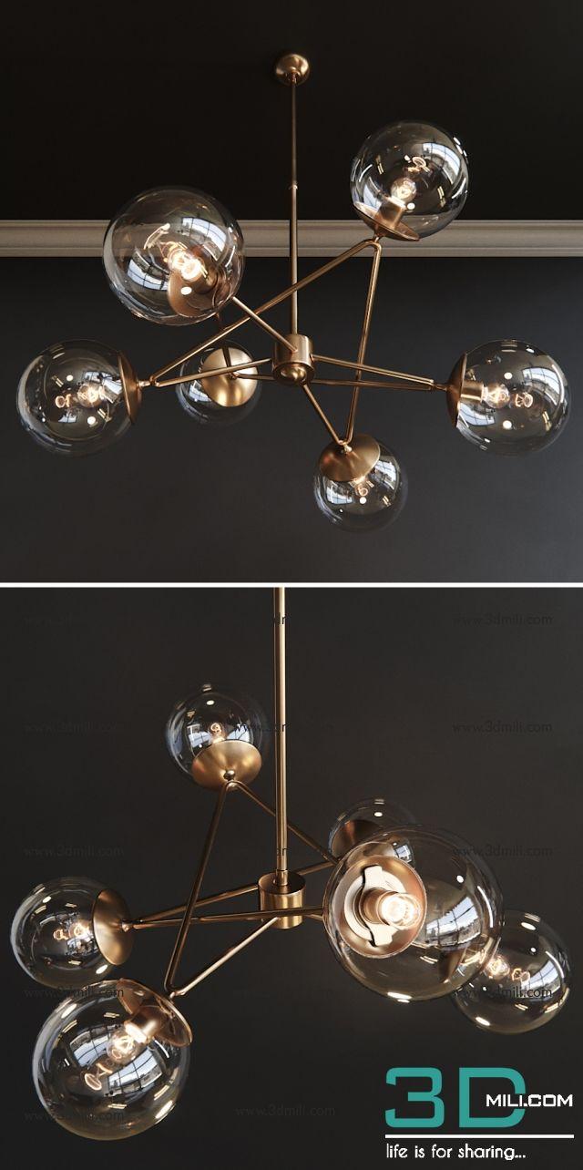 ceiling light 3d model free download