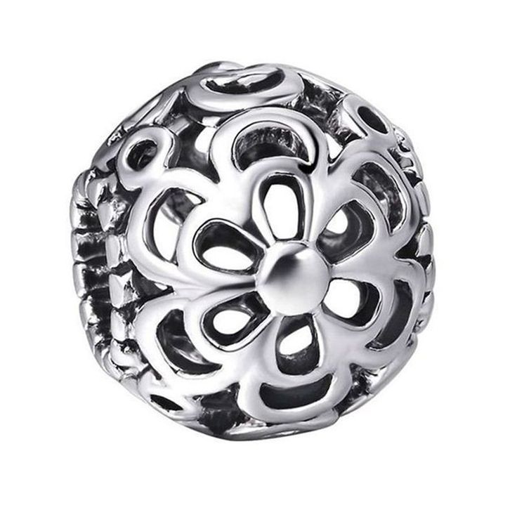 925 Sterling Silver Beads Heart Animal Flower European Charms Bead Fit Pandora…