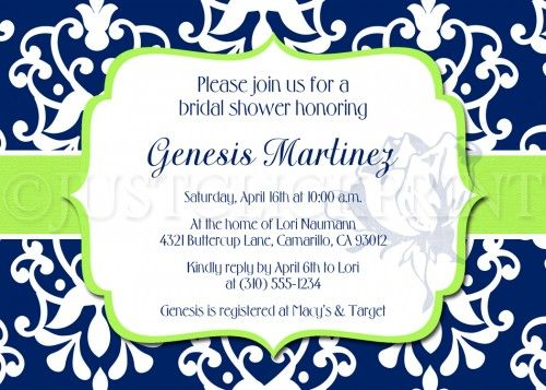 Royal Blue And Lime Green Wedding Invitations: Best 25+ Green Bridal Showers Ideas On Pinterest