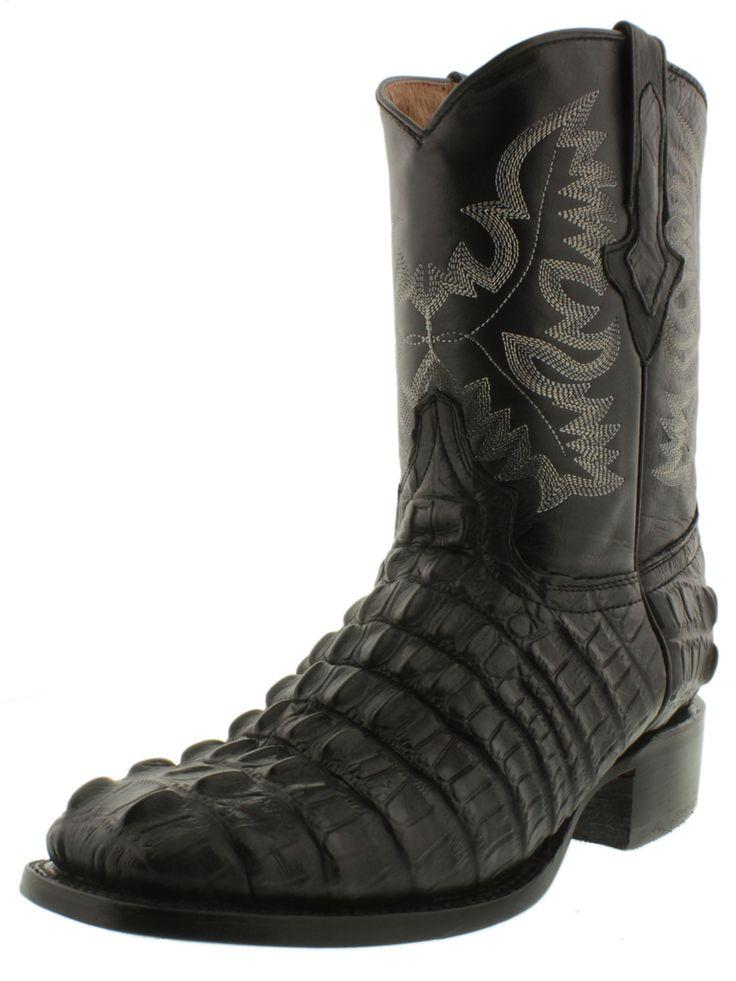 181 Best Men S Crocodile Alligator Boots Images On