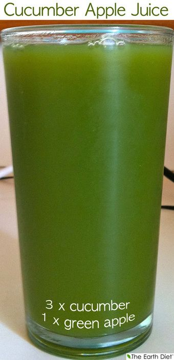 July 26th 2013 http://www.theearthdiet.org/18/post/2013/07/cucumber-apple-juice.html