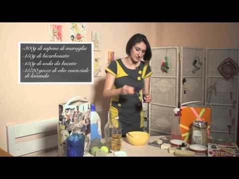Detersivo da bucato - video tutoral DVD Fatto in casa con Lucia