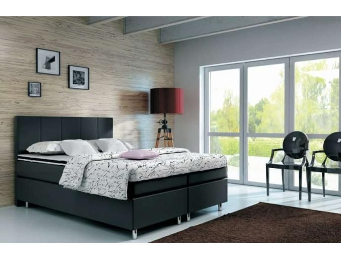Imani kétszemélyes kontinentális ágy magas fejvéggel | Mabyt - HU