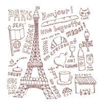 paris word coloring pages - photo#15
