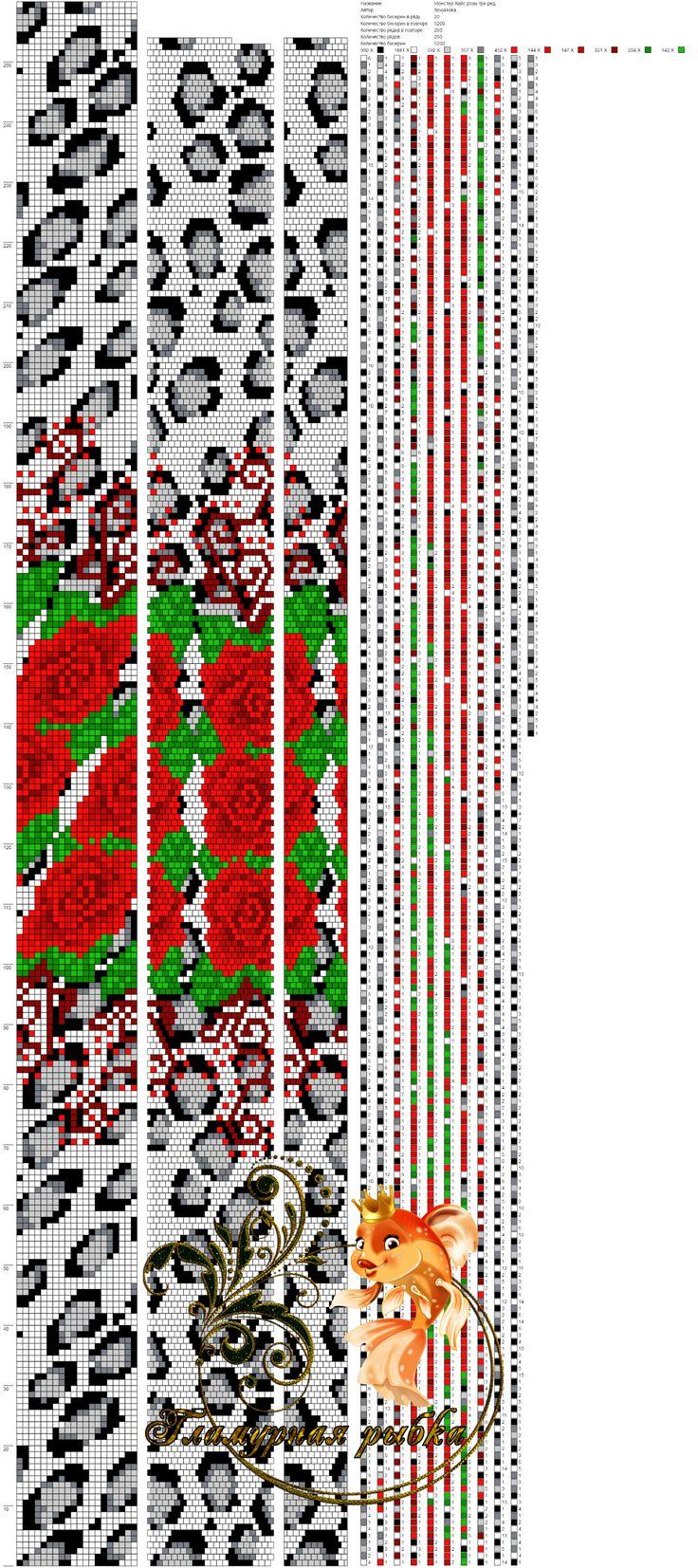 Схема для вязаного жгута