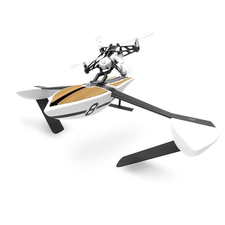 Parrot Mini Drones - Hydrofoil - NEWZ  Varende boot aangestuurd door een mini-sized quadcopter.  EUR 99.00  Meer informatie