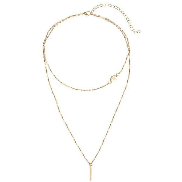 Golden Peace Dove Bar Layered Pendant Necklace ($3.34) ❤ liked on Polyvore featuring jewelry, necklaces, peace sign jewelry, peace necklace, layered necklace, peace sign pendant necklace and golden jewelry