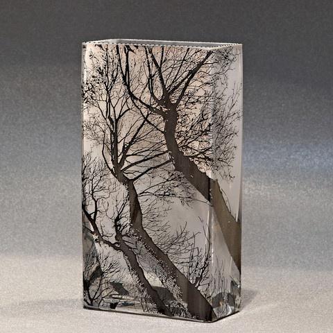 Mary-Melinda Wellsandt   Glass sandblasted
