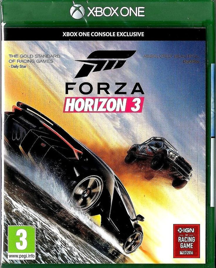 Forza Horizon 3 (Xbox One) NEW