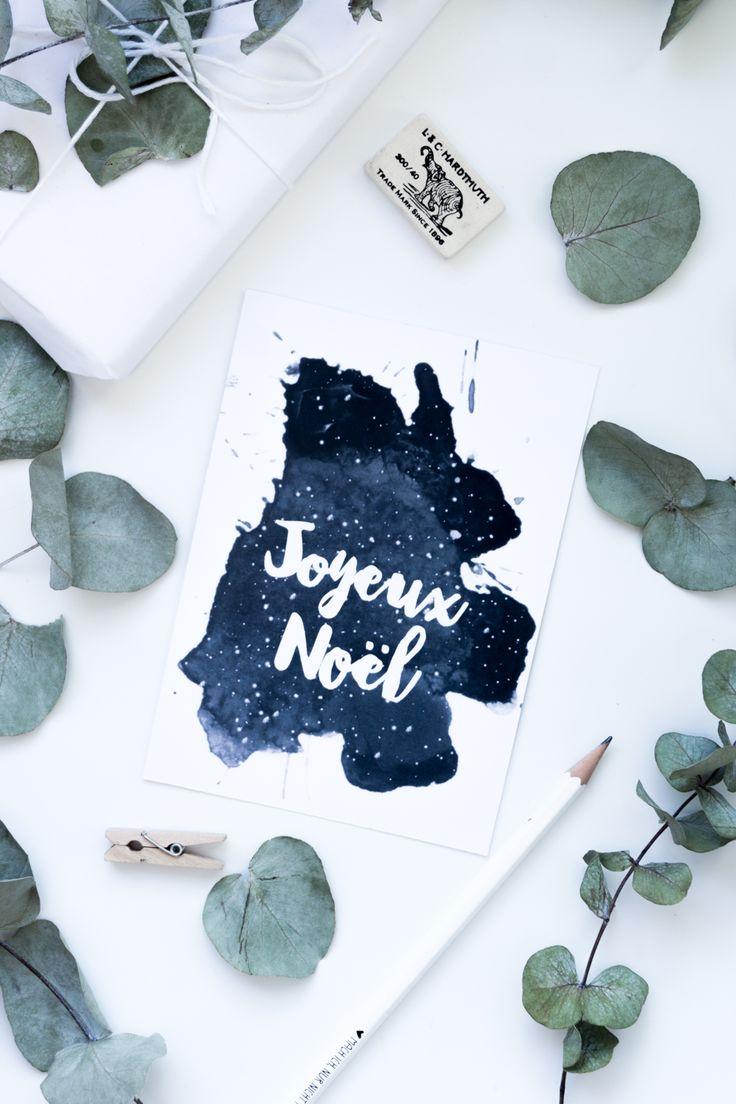 Weihnachten Freebie zum Ausdrucken: Aquarell Schneeflocken Weihnachtskarten mit Letterings zum kostenlosen Download auf dem Blog | Free Printable deutsch | Basteln für Weihnachten | DIY Geschenkidee | #freebies #weihnachtskarten #diy #vorlage