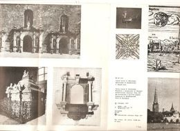 k2 USSR Soviet Riga Liesma 1977 Brochure illustrated about what the church of Peter tells by Holcmanis russian latvian | For sale on Delcampe