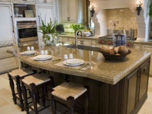 Small Granite Top Kitchen Island Sink New Home Ideas