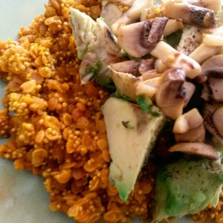 #avocado #spicy #quinoa