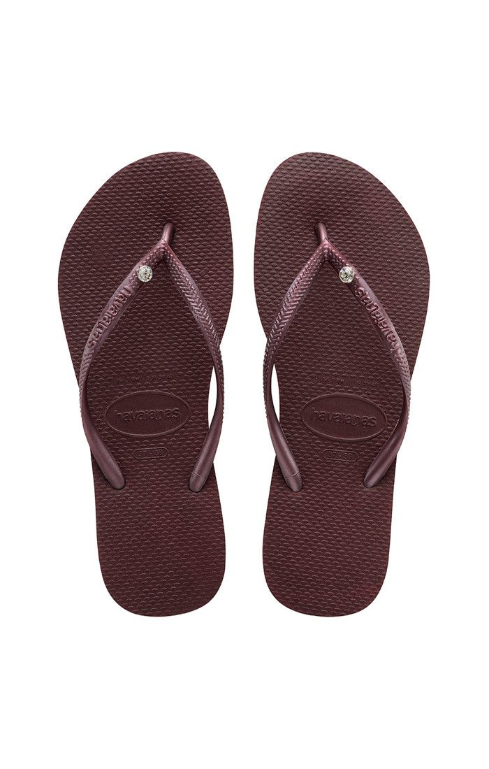 Havaianas Slim Crystal Glamour Sw Sandal Grape Wine  Price From: 45,48 $CA