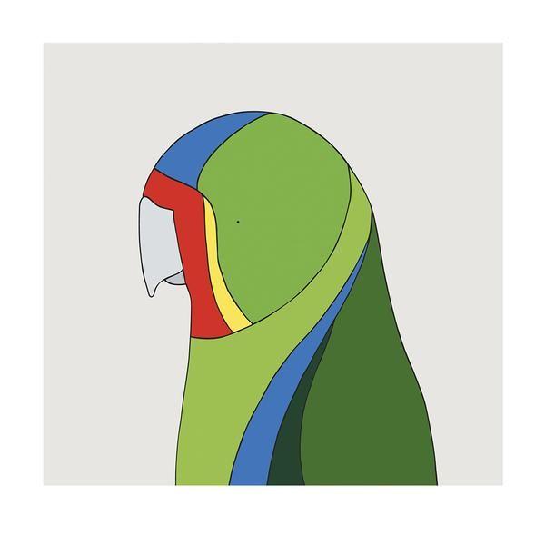 Swift Parrot - bird art by Australian graphic designers Eggpicnic.