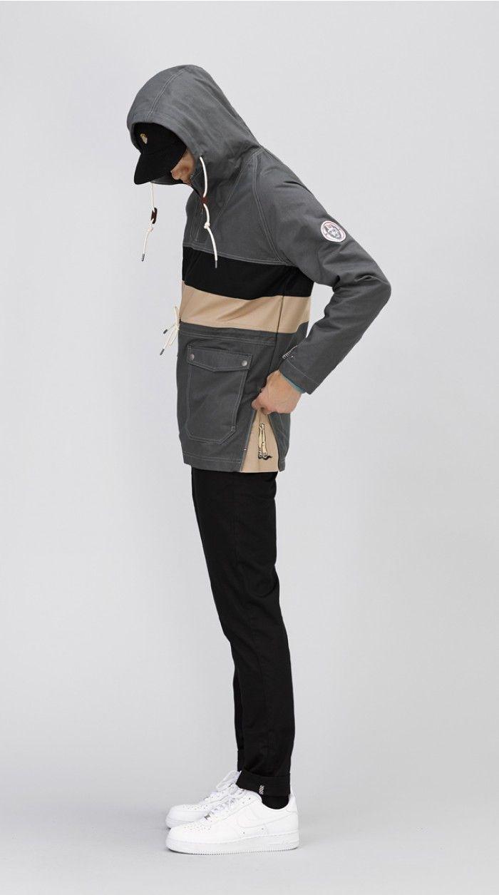 NICELEAK:Charcoal anorak jacketUs$179.00 by I LOVE UGLY