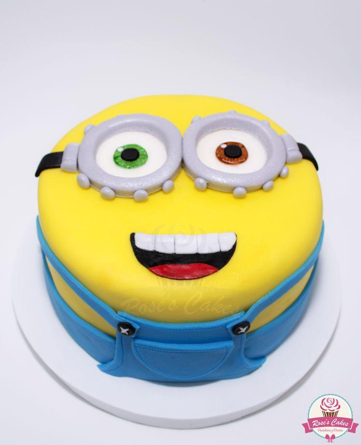 #minions #fondant #cake