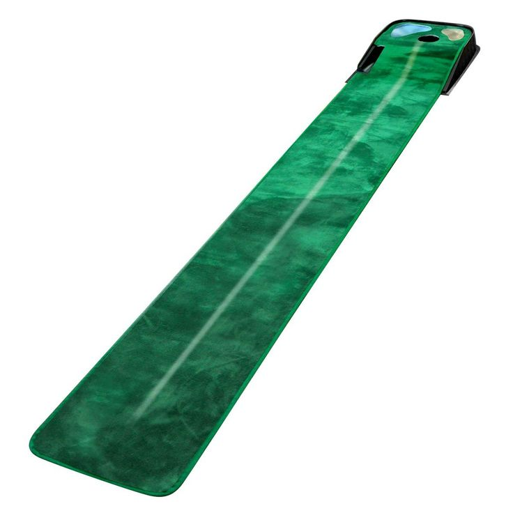 This high quality 8ft by 13in mens 2015 golf practice putting green mat by Orlimar tracks your putt from beginning to end at realistic speeds