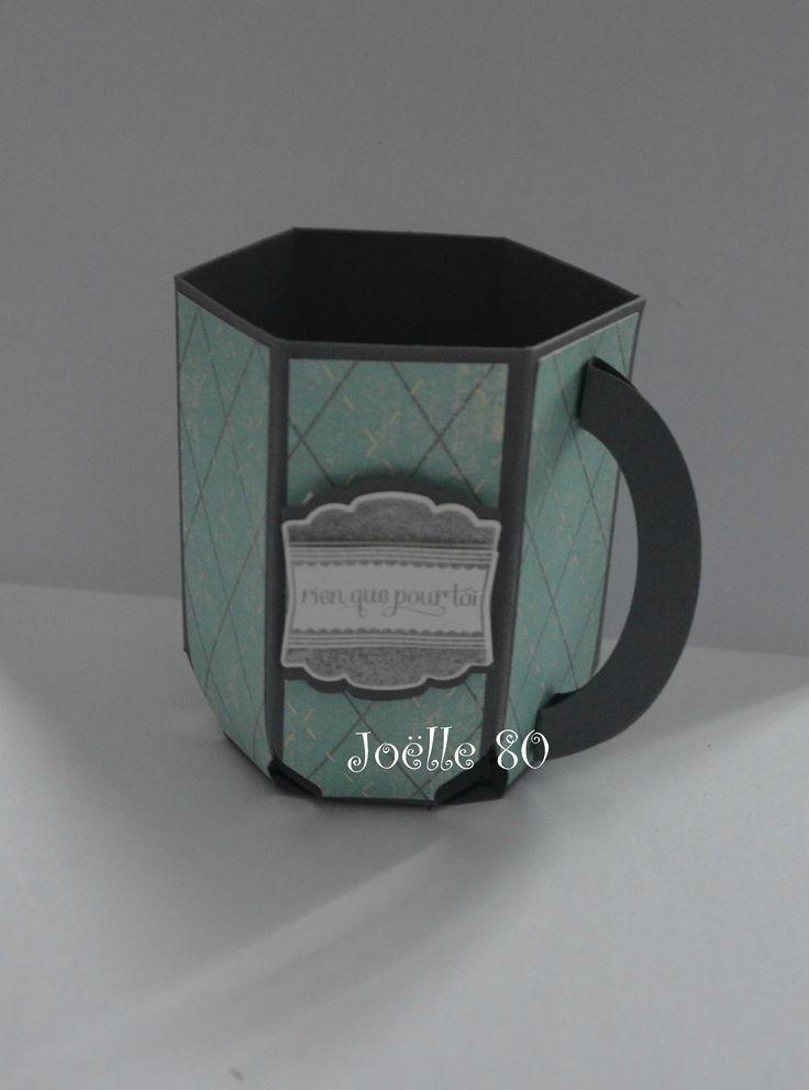 Une tasse à café remplie de chocolat !!!!!! - Mes petites créations Stampin'up