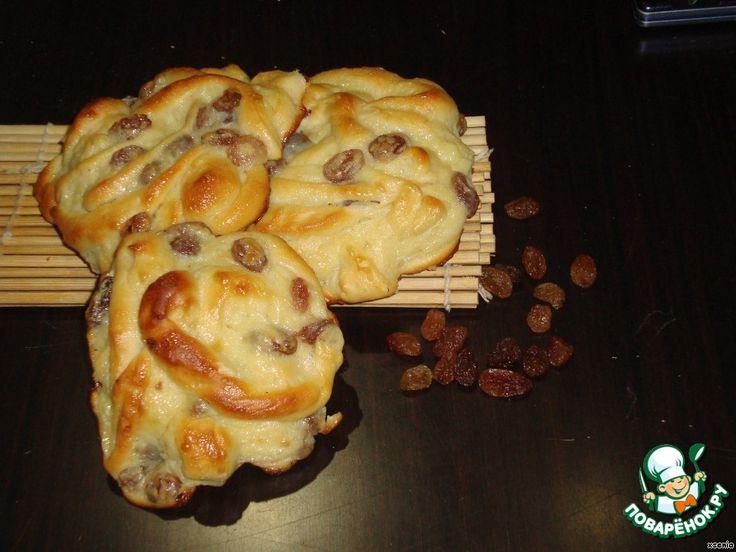 Сладкие ленивые булочки с заварным кремом ингредиенты