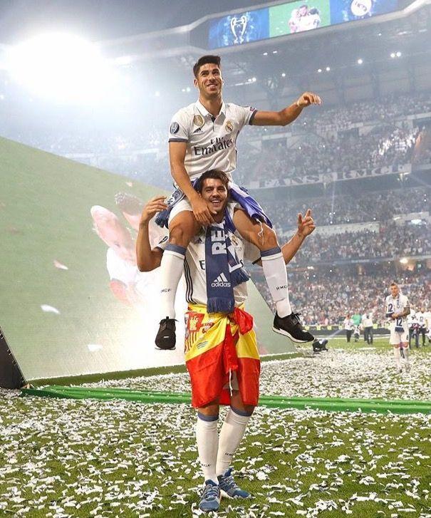 Morata and Asensio Real Madrid la Duodecima 2017