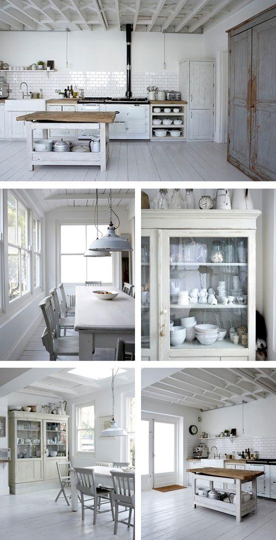 Dream Kitchen. Minus so much white