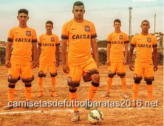 Comprar replicas camisetas de fútbol baratas 2016 : Camiseta de fútbol baratas SC Corinthians 2016 3ª ...