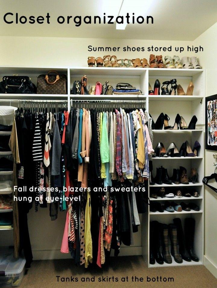 34 best OCD - Organized Closets images on Pinterest