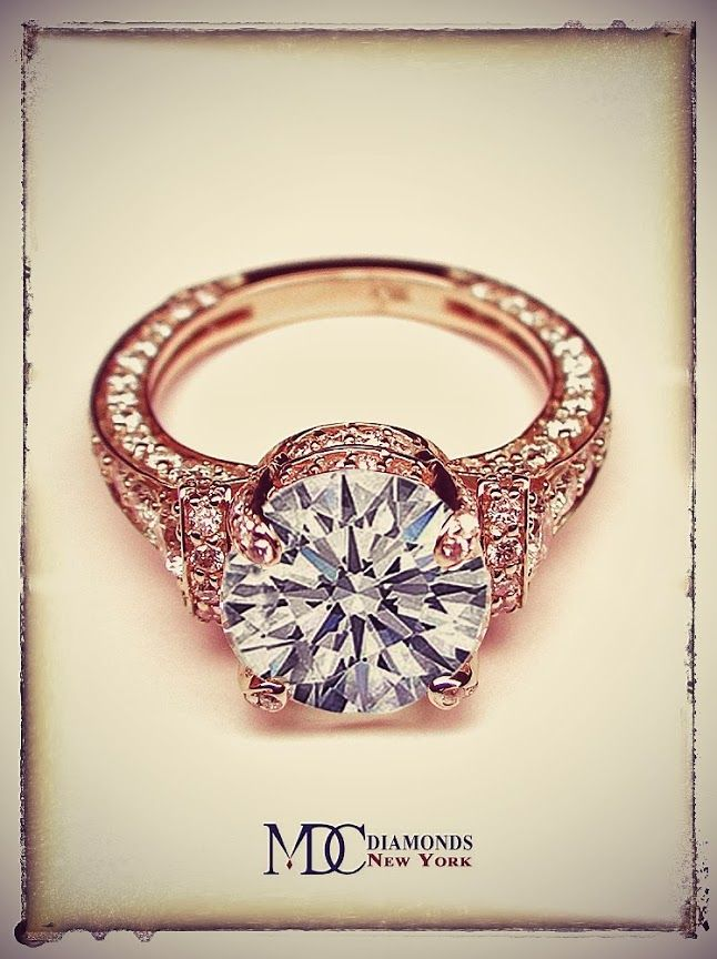 Dear future husband, this is perfect. love Mary **Vintage Rose Gold Engagement Ring. Stunning.**