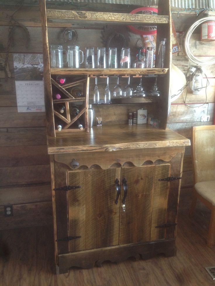 custom bar or reasonable offer boyne falls mi 7 bottle wine rack locking liquor cabinet shelving and a spot to hang your wine margarita