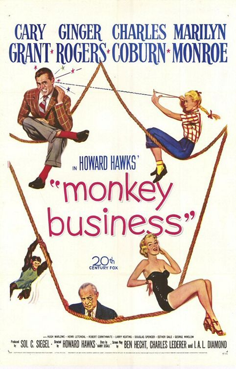 Monkey Business Movie Poster - Internet Movie Poster Awards Gallery