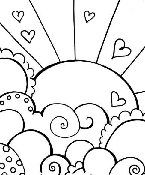 7 best Castle Coloring Pages images on Pinterest