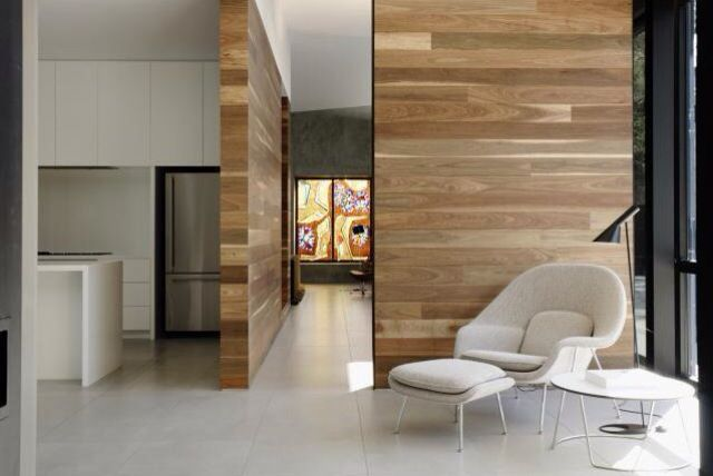 Timber feature wall architechture interior design for Feature wall interior design