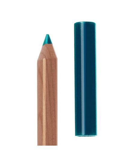 Neve Cosmetic: Pastello occhi pertolio/blue: Blu scuro a sottotono verde con riflessi azzurro cielo.