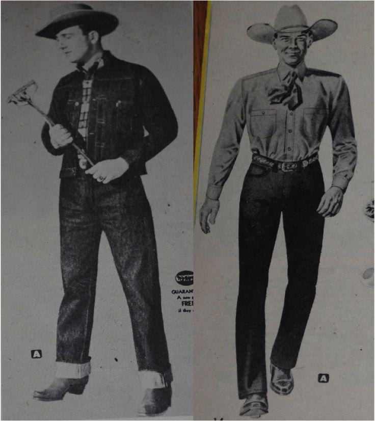 私のリーバイス: ヴィンテージ・カウボーイ・カタログから当時のリーバイスとLeeの比較と考察