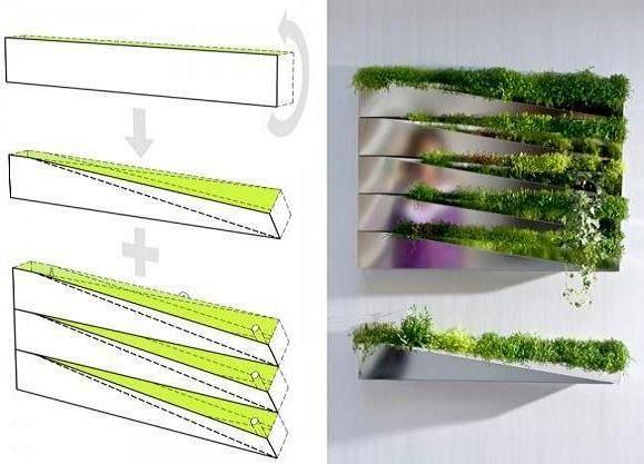 amazing interior mirror planter