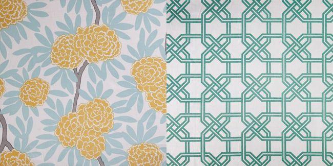 Caitlin Wilson's designer fabrics.Design Fabrics, Wilson Design, Room Design, Caitlin Wilson
