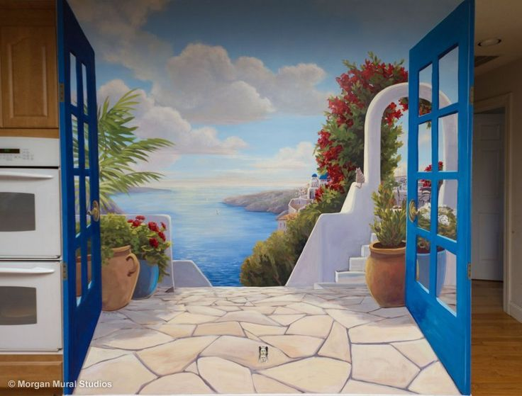 17 best images about trompe l 39 oeil on pinterest capri italy murals and photo art. Black Bedroom Furniture Sets. Home Design Ideas