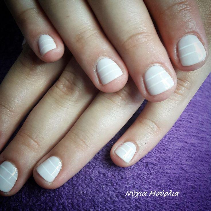 nailart~minimal nails~handmade nails