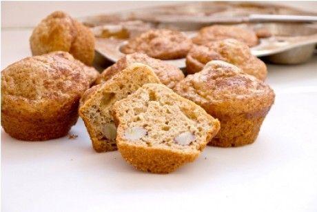 Quinoa Peanut Butter and Banana Muffins