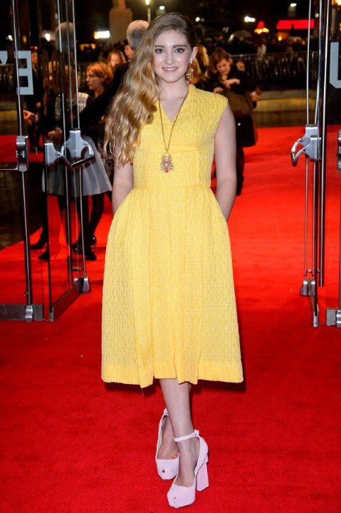 Willow Shields at event of The Hunger Games: Catching Fire ...